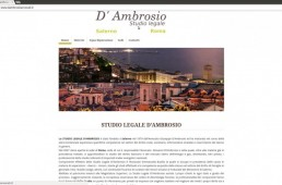 Sito web Dambrosioavvocati.it